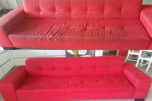 ניקוי ספות בסלון
