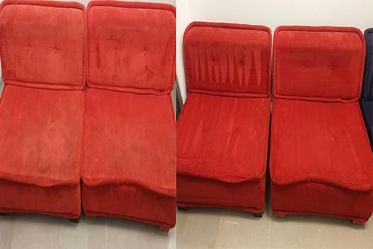 ניקוי ספות אדומות