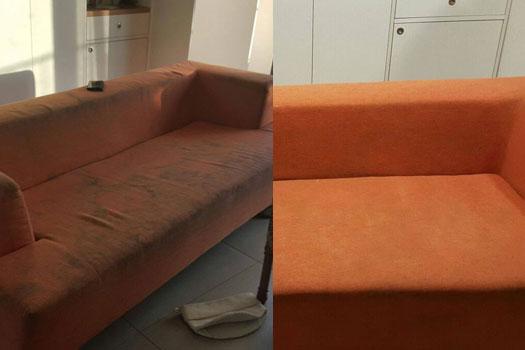 ניקוי ספה צבעונית בתל אביב