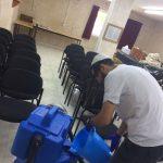 ניקוי כיסאות ומושבים בבתי כנסת