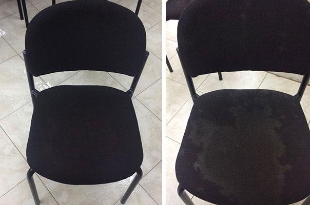ניקוי כיסאות בבית כנסת